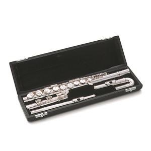 Alto Flüt Pearl 207ESU gümüş ağızlık ve gövde, e-mek., düz ve kıvrık ağızlıklı