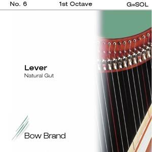 Arp Tel Bow Brand bağırsak 1. Octave G lever