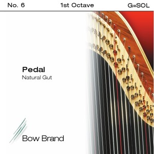 Arp Tel Bow Brand bağırsak 1. Oktav G pedal