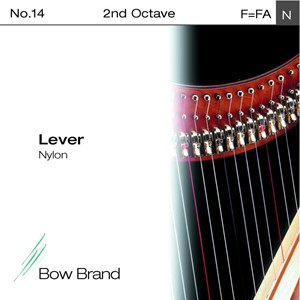 Arp Tel Bow Brand bağırsak 2. Octave F lever