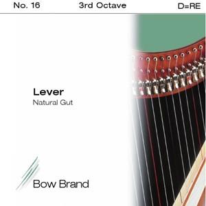 Arp Tel Bow Brand bağırsak 3. Octave D lever