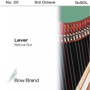 Arp Tel Bow Brand bağırsak 3. Octave G lever