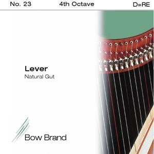 Arp Tel Bow Brand bağırsak 4. Octave D lever