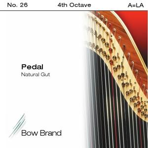 Arp Tel Bow Brand bağırsak 4. Oktav A pedal