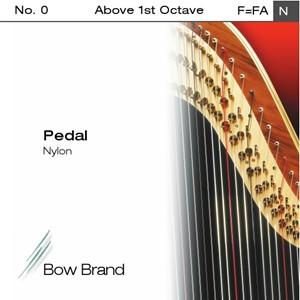 Arp Tel Bow Brand naylon 0. Oktav F pedal