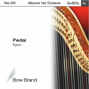 Arp Tel Bow Brand naylon 0. Oktav G pedal