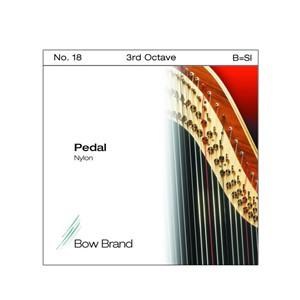 Arp Tel Bow Brand naylon 3. Oktav B Pedal