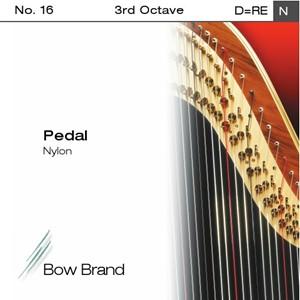 Arp Tel Bow Brand naylon 3. Oktav D pedal