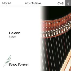 Arp Tel Bow Brand naylon 4. Oktav C Lever