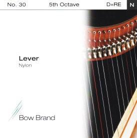 Arp Tel Bow Brand naylon 5. Oktav D Lever