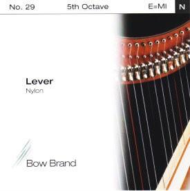 Arp Tel Bow Brand naylon 5. Oktav E Lever