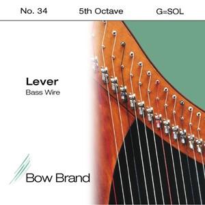 Arp Tel Bow Brand Wire 5. Oktav G Lever