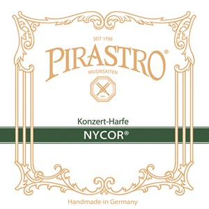 Arp Tel Pirastro Concert Harp Nycor 2. Oktav D pedal