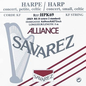 Arp Tel Savarez Alliance K.F. 2. Oktav D
