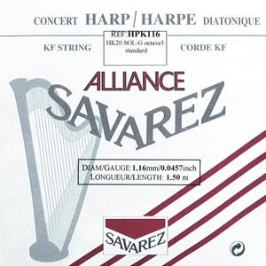 Arp Tel Savarez Alliance K.F. 3. Oktav G