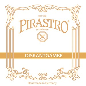 Bass Gamba Tel Pirastro Gut D6