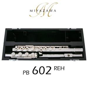 Flüt Miyazawa PB-602REH PB-602RE gibi, B kuyruklu
