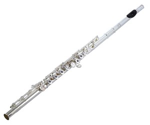 Flüt Pearl 665RBE-W/50A, 50th year limited ;ağızlık masif gümüş, ambişür Ziricote, açık perd. B kuy