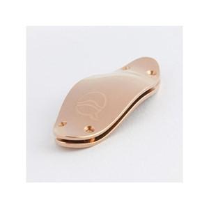 Flüt/Saksofon/Trompet/Trombon/Korno ses köprüsü Lefreque 41mm masif gümüş pembe altın kaplama