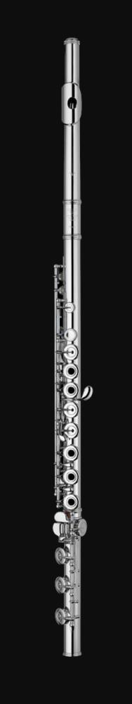 Flüt Sankyo CF-401RI -ağızlık, gövde ve perdeler gümüş, açık perde,inline