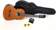 Gitar Gewapure Klasik Basic set 4/4 kılıf, tuner ve 2 adet pena dahil set