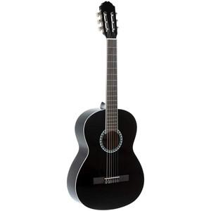 Gitar Gewapure Klasik Basic set siyah 4/4 kılıf, tuner ve 2 adet pena dahil set