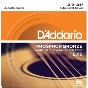 Gitar Tel D'addario Bronze Extra Light EJ10 Set Akustik 0.10