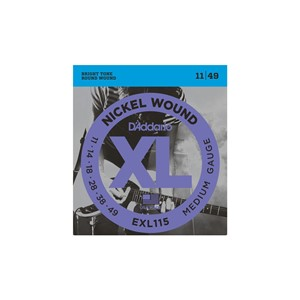 Gitar Tel D'addario XL Medium 11 Set Elektro