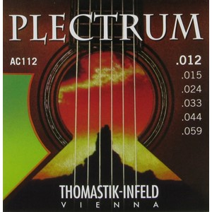 Gitar Tel Thomastik Plectrum E Akustik P10T tin plated
