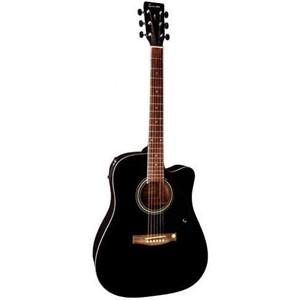 Gitar Tenson Elektro-Akustik Cutaway D10-CE siyah F501.326