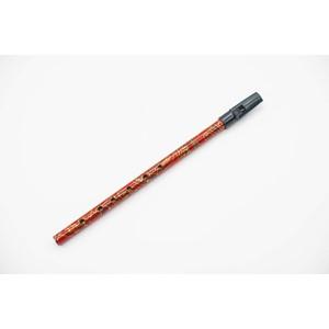 İrlanda Flütü - Generation D (Re) Boho Whistle desenli, kırmızı