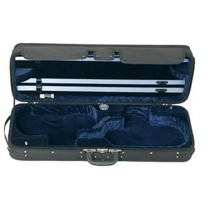 Keman Kutu Gewa Liuteria Concerto-ikili 3.4kg Siyah-Mavi