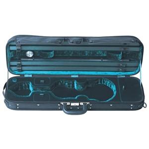 Keman Kutu Gewa Liuteria Maestro-dikdörtgen 2.8kg Siyah-Yeşil