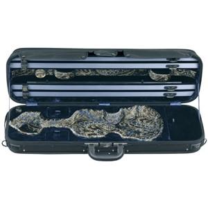 Keman Kutu Gewa Liuteria Venetian-dikdörtgen 2.9kg Siyah-lacivert desenli