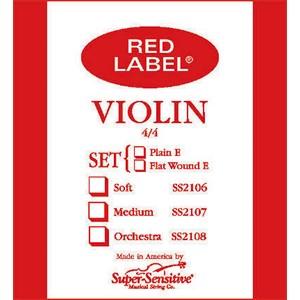 Keman Tel Super Sensitive Red Label E-Ball 1/2