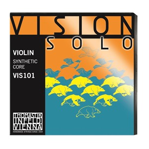 Keman Tel Thomastik Vision Solo Set Silver D