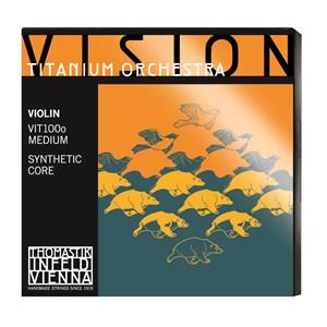 Keman Tel Thomastik Vision Titanium Orchestra Set