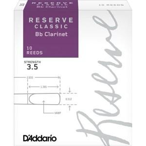 Klarnet Kamış D'addario Reserve Classic no.3,5 Bb