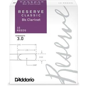 Klarnet Kamış D'addario Reserve Classic no.3 Bb