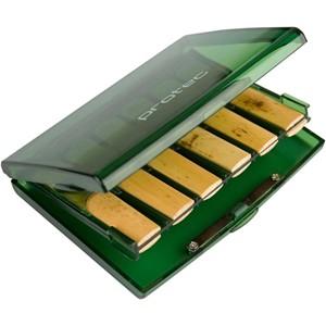 Klarnet kamış kutusu Protec 12'li yeşil