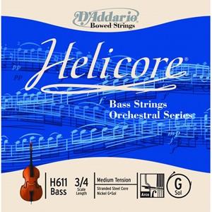 Kontrbas Tel D'addario Helicore - Orchestra G