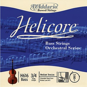Kontrbas Tel D'addario Helicore - Orchestra H5