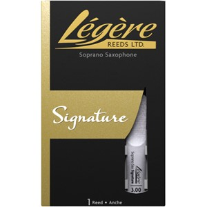 Legere Soprano Saksofon Kamışı Signature no.2 Synthetic