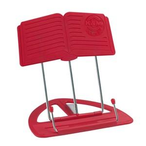 Masa üstü nota sehpası K&M 12440 Uni-Boy Book kırmızı
