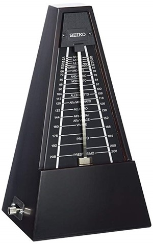Metronom Seiko WPM1000 ahşap -koyu