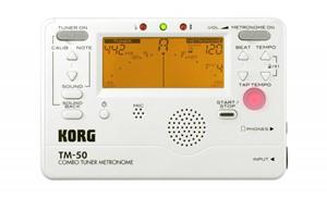 Metronom-Tuner Korg TM-50 beyaz
