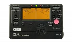 Metronom-Tuner Korg TM-50 siyah