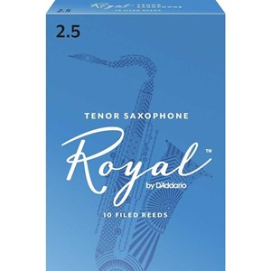 Saksofon Kamış Rico Royal no.2,5 Tenor