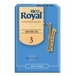 Saksofon Kamış Rico Royal no.3 Bariton