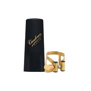 Saksofon Ligatür&kapak Vandoren M/O aged gold plastik kapaklı Alto